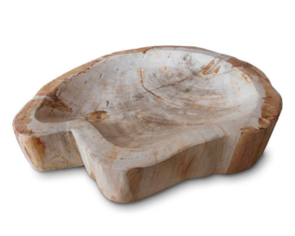 Petrified Wood Bowl Full Polish#BWL01