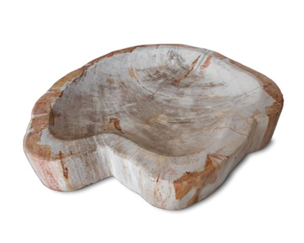 Petrified Wood Bowl Full Polish#BWL03