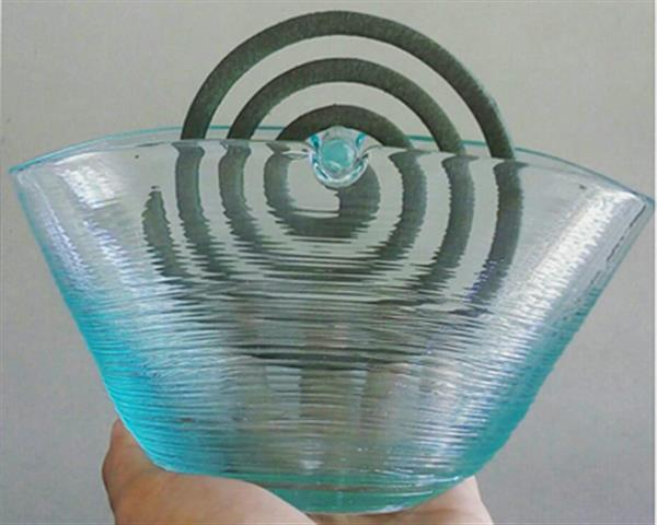 Glass Mosquito Coil Holder#G25