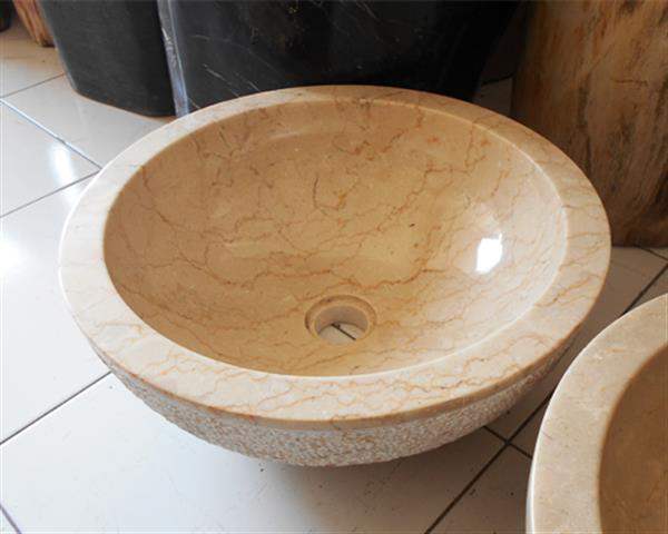 Yellow Onyx Sink Design 2#OS02