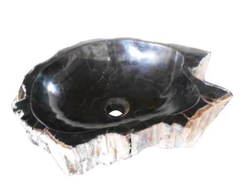 Petrified Wood Sink Small#WSTF06