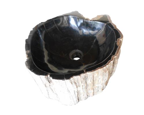 Petrified Wood Sink Medium#WSTF08