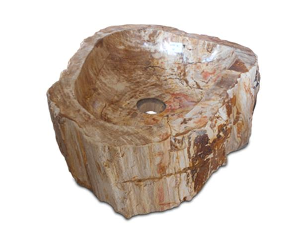 Petrified Wood Sink Medium#WSTF16