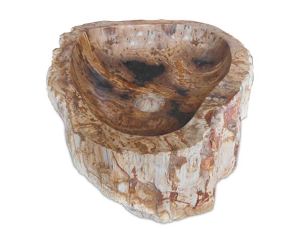 Petrified Wood Sink Medium#WSTF17
