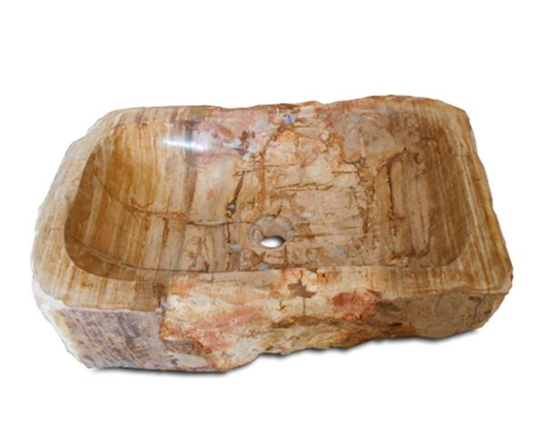 Petrified Wood Sink Extra Large#WSTF22
