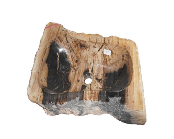 Petrified Wood Sink Large#WSTF44