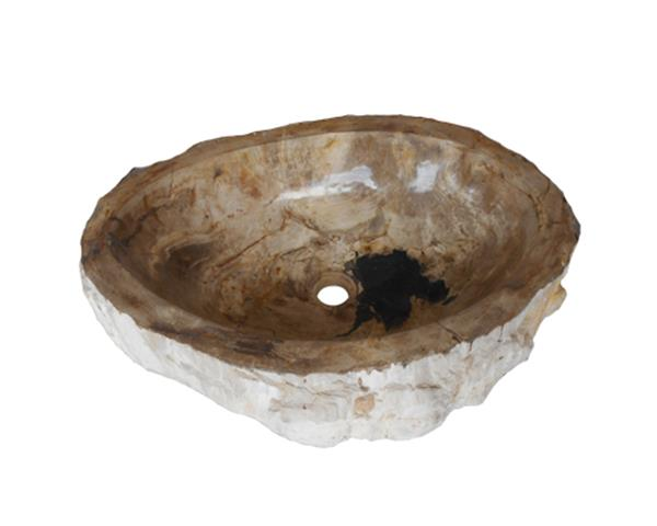 Petrified Wood Sink Large#WSTF45