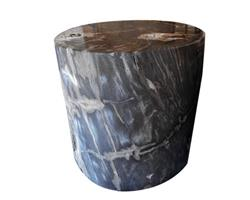 Petrified Wood Side Table 245 kg#BNK02