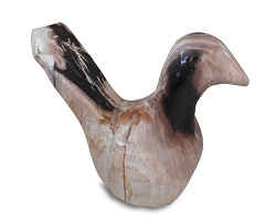 Petrified Wood Bird Statue#BRG03