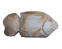 Petrified Wood Fish#F39