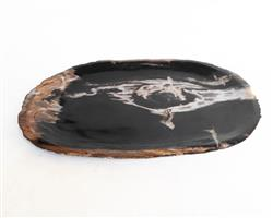 Petrified Wood Plate Medium Size#PLT289