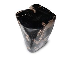 Petrified Wood Round Stool Full Polish#SRFP144