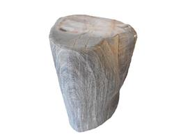Petrified Wood Round Stool Full Polish#SRFP31