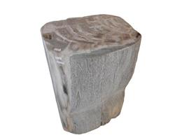Petrified Wood Round Stool Full Polish#SRFP44