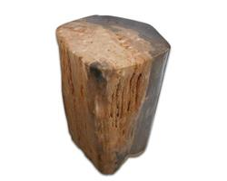 Petrified Wood Round Stool Full Polish#SRFP72