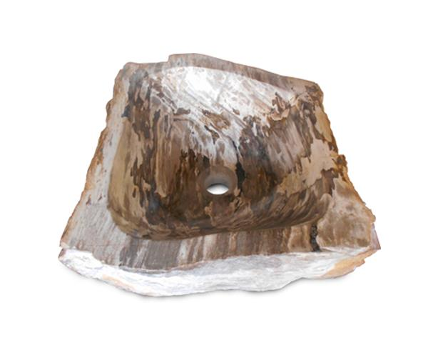Petrifed Wood Sink Small#WSTF27
